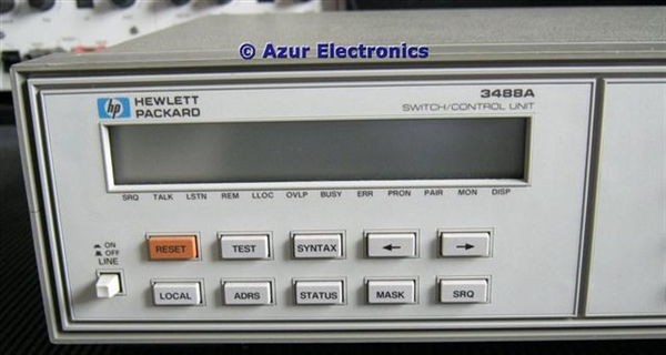 hp 3488a switch control unit rh azurelectronics com HP All in One Desktop Manuals HP Printer User Manual